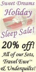 Holiday Sleep Sale on Wool Bedding