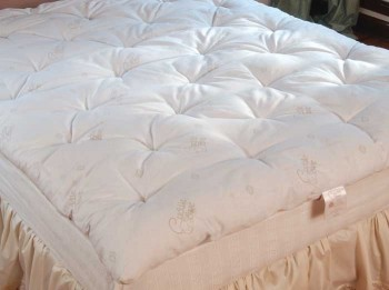 queen wool mattress toppers